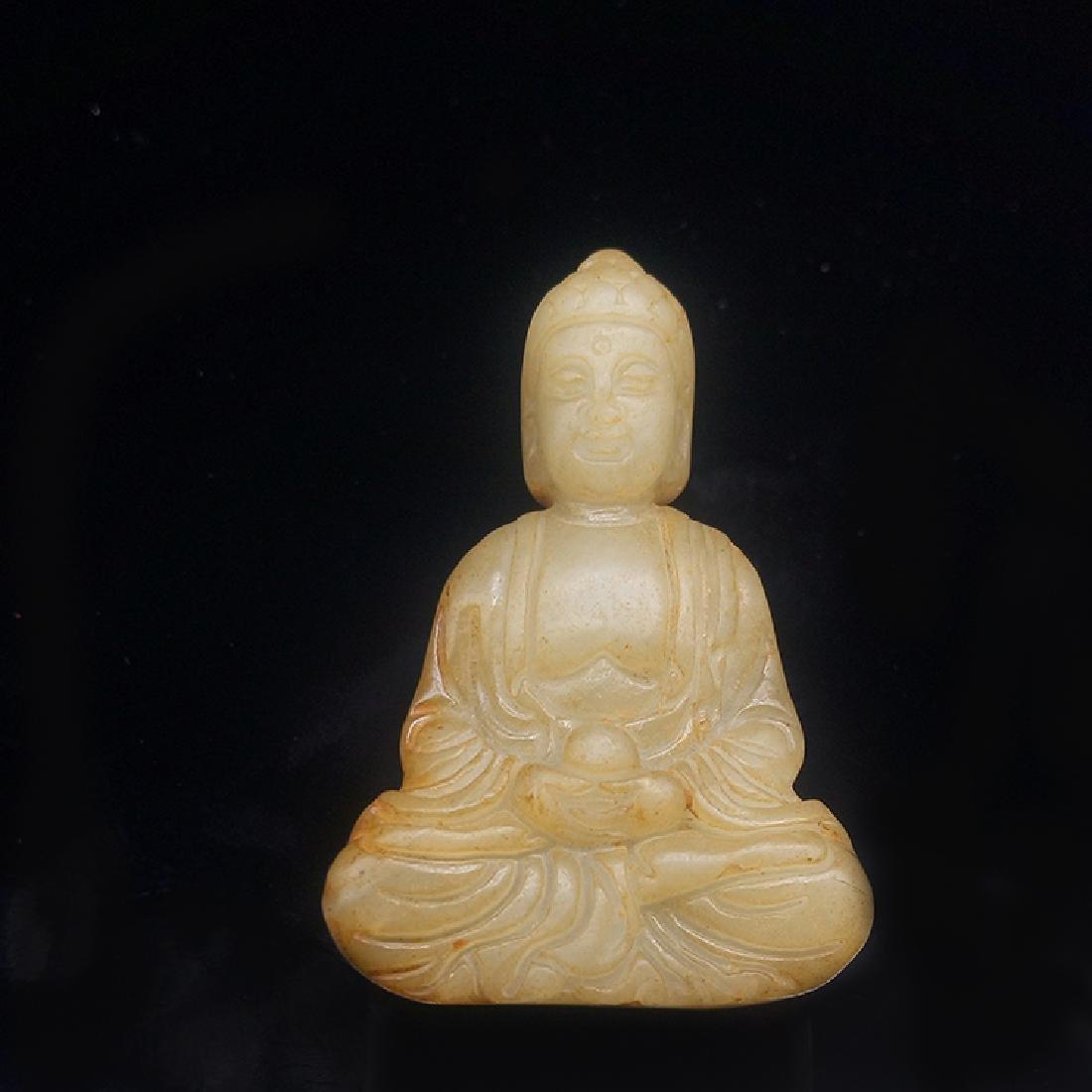 Xiuyan Jade Buddha Statue - 5