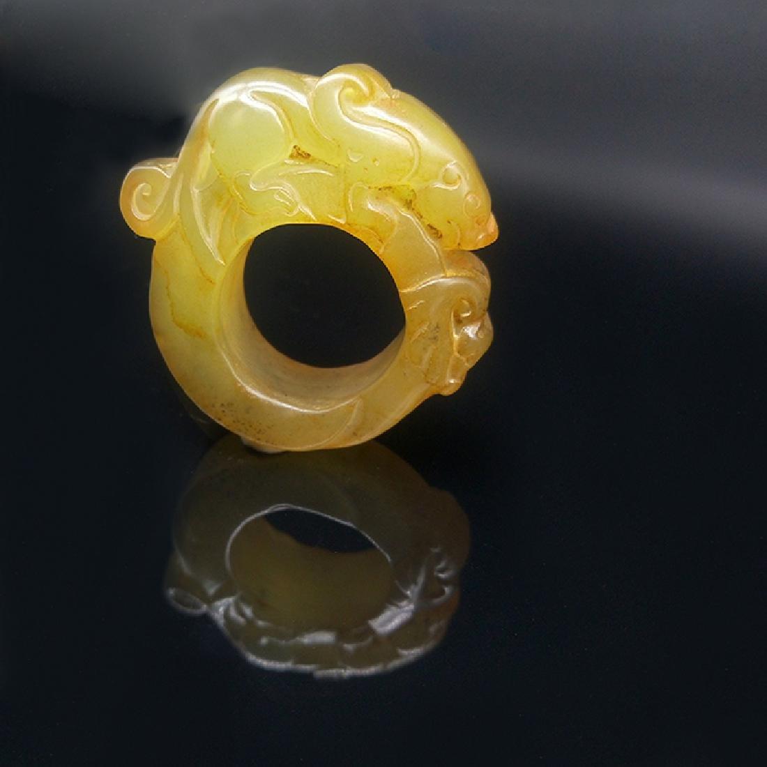 Xiuyan Jade Ring