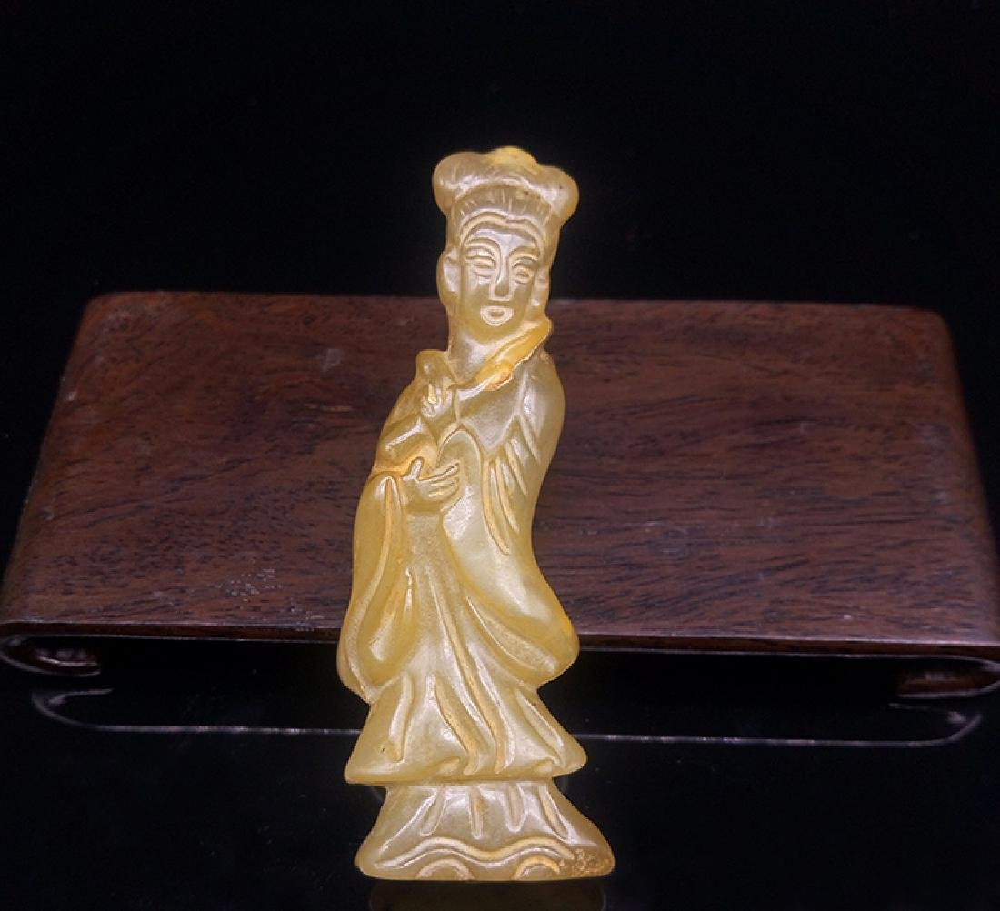 Xiuyan Jade Lady Statue
