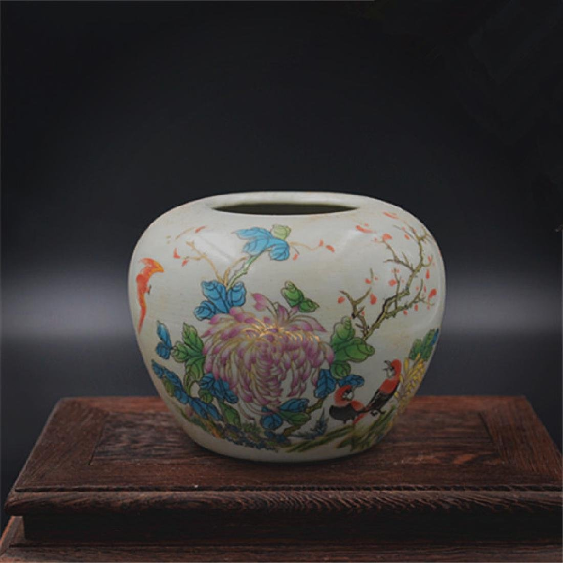 Chinese Qing Dynasty Tongzhi Time Famille-Rose