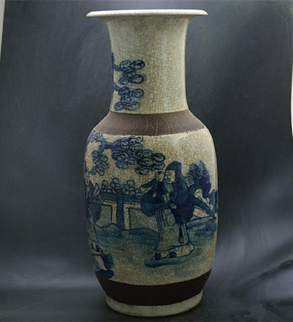 Chinese Ming Dynasty Chenghua Time Blue & White Glaze - 3