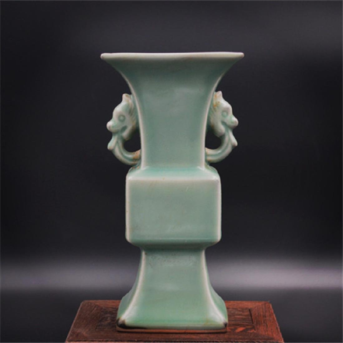 Chinese Song Dynasty Longquan Ware Porcelain Vase