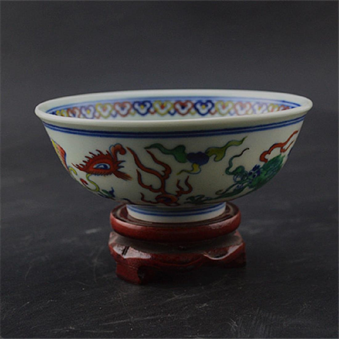 Chinese Qing Dynasty Yongzheng Time Porcelain Bowl With