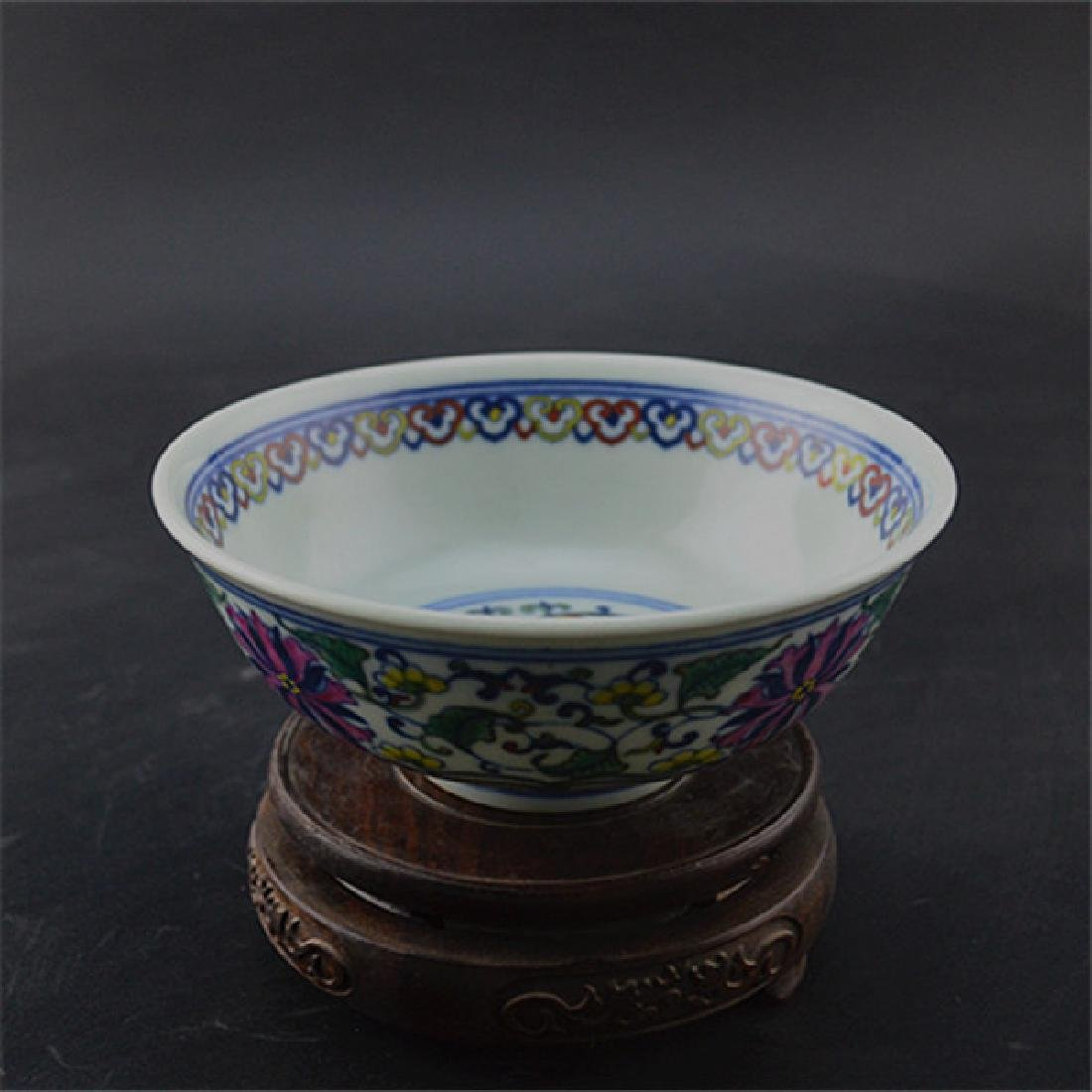 Chinese Qing Dynasty Yongzheng Time Porcelain Bowl