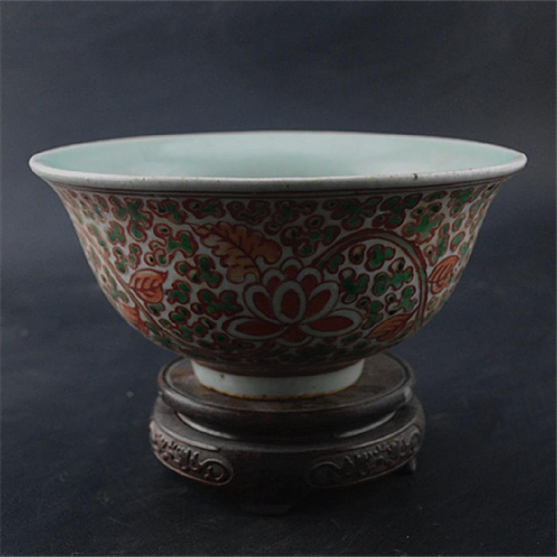 Chinese Ming Dynasty Min Ware Porcelain Bowl With