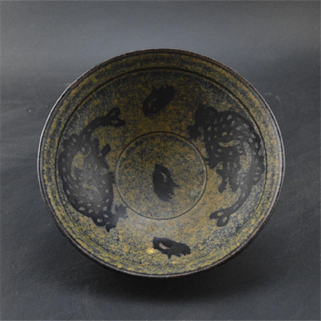 Chinese Song Dynasty Jizhou Ware Yellow Glaze Porcelain