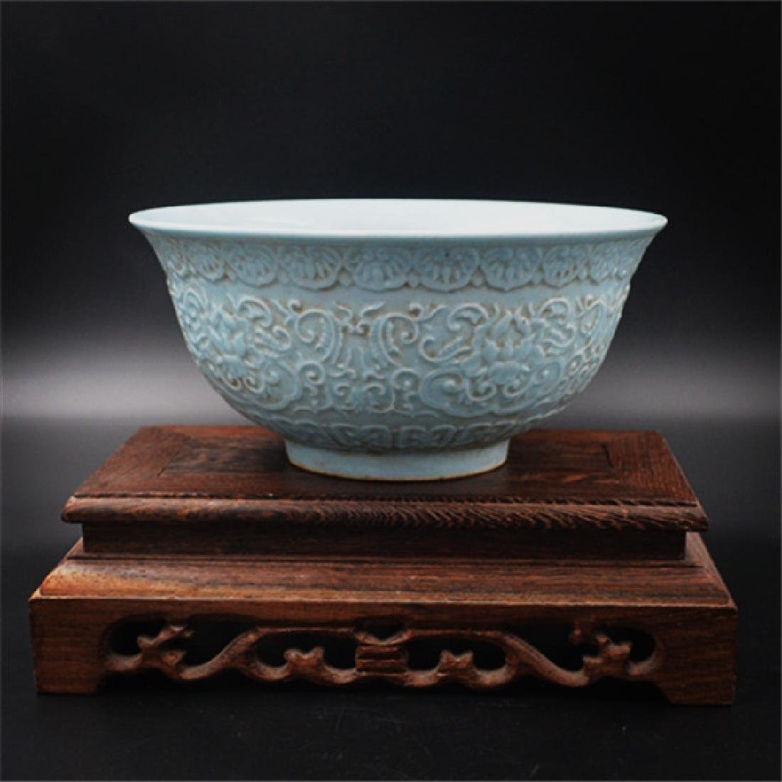 Chinese Qing Dynasty Qianlong Time Porcelain Bowl