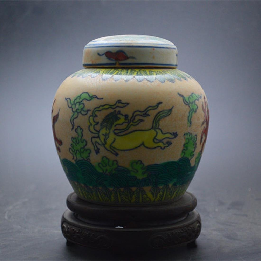 Chinese Ming Dynasty Chenghua Time Blue & White Glaze - 2