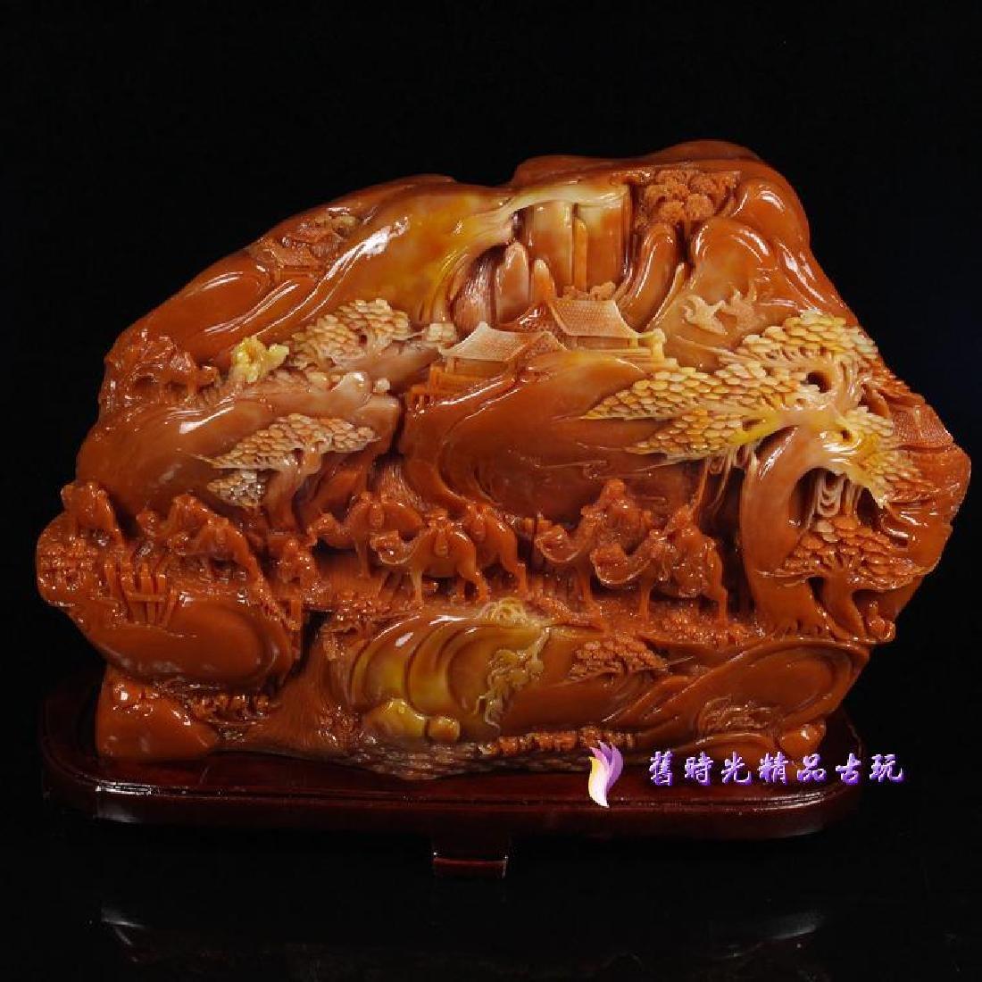 Shoushan Stone Carving