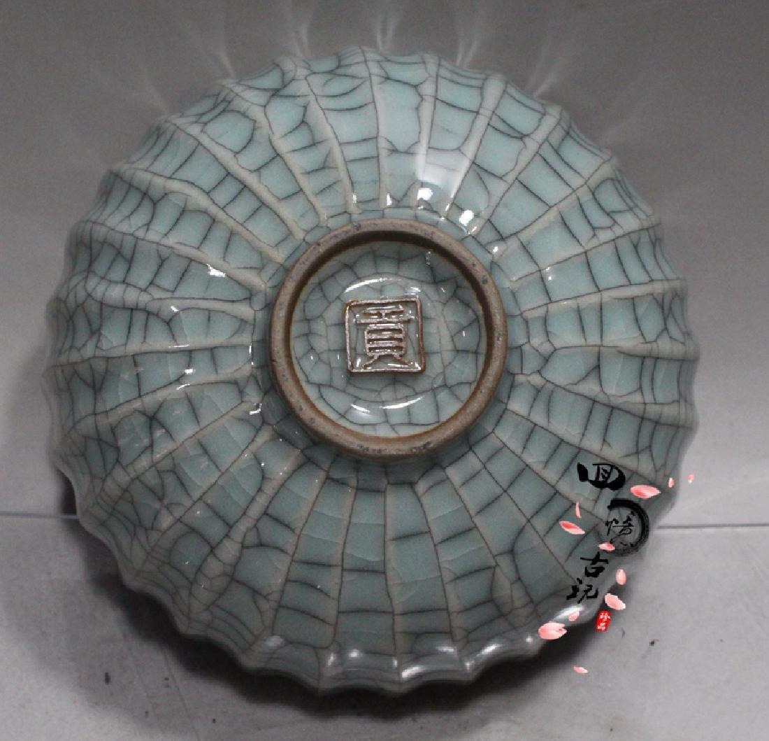 Chinese Antique Crackle Glaze Porcelain Bowl - 5