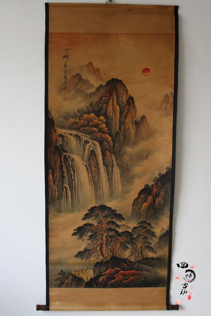 Chinese Antique Landscape Painting