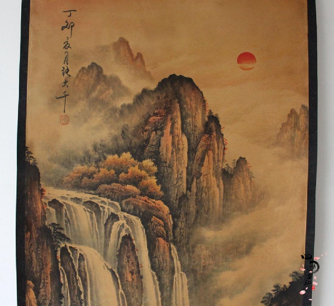 Chinese Antique Landscape Painting - 2