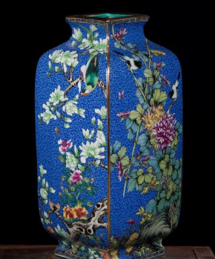 Chinese Antique Jingdezhen Colorful Enamel Porcelain