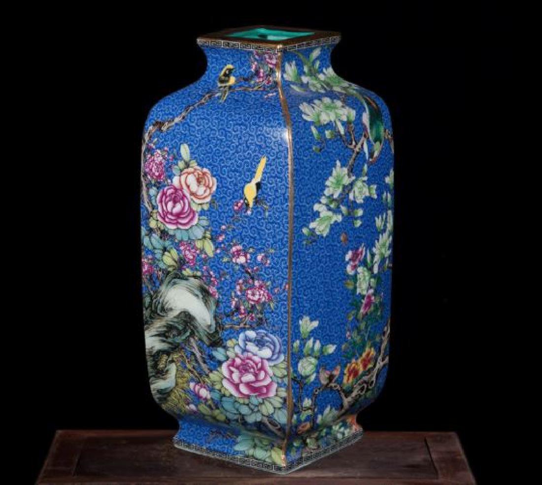 Chinese Antique Jingdezhen Colorful Enamel Porcelain - 2