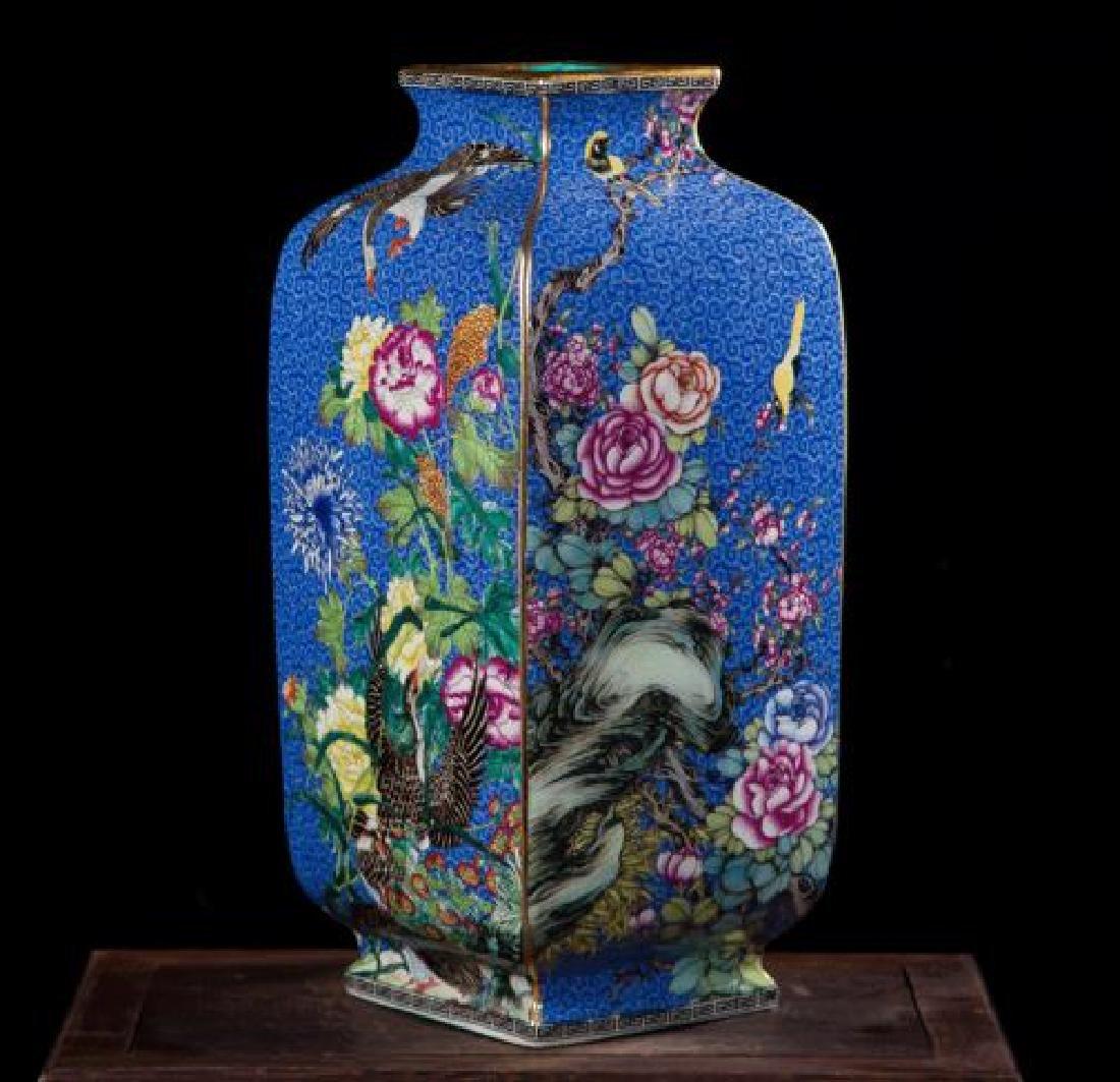Chinese Antique Jingdezhen Colorful Enamel Porcelain - 3