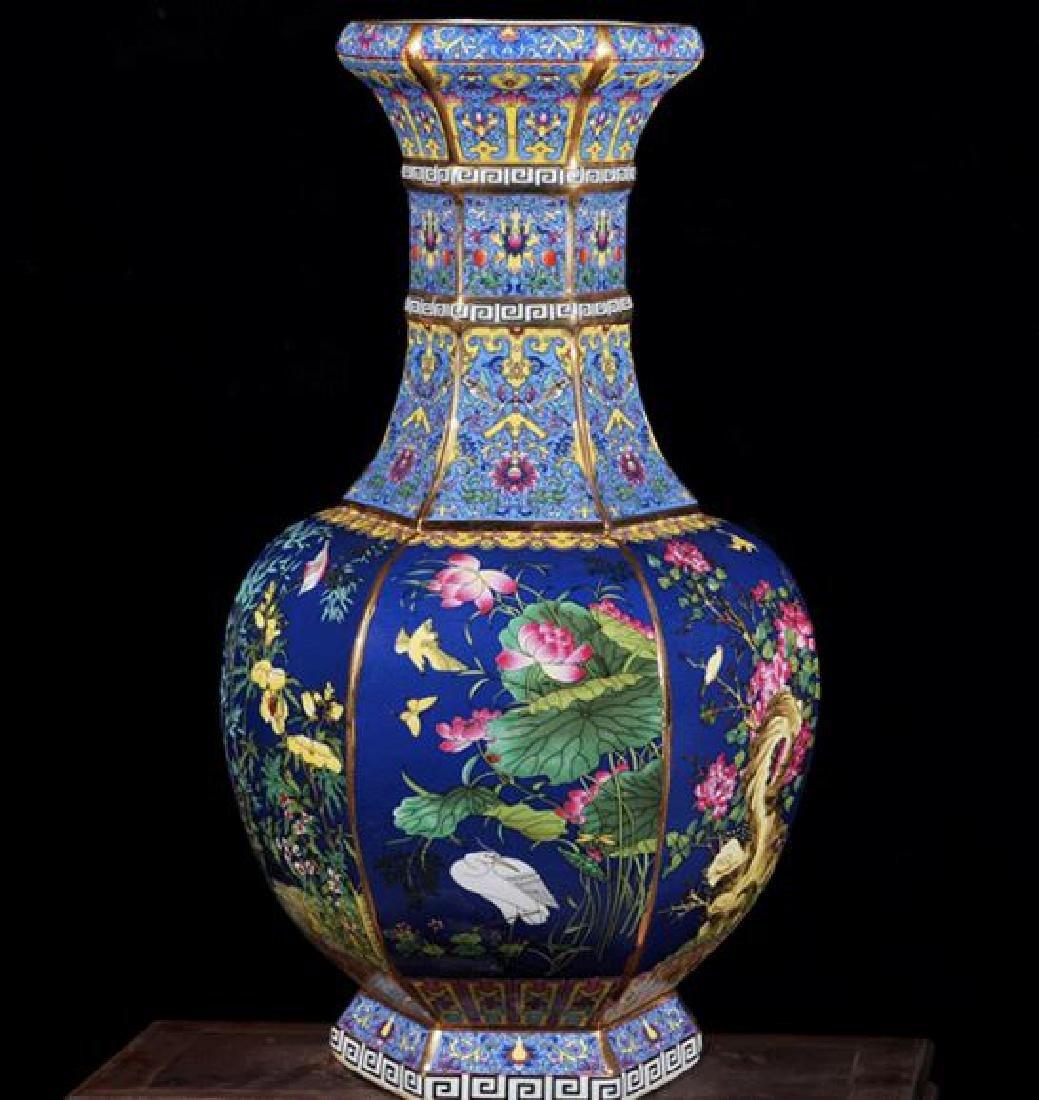 Chinese Qianlong Time Jingdezhen Colorful Enamel - 2
