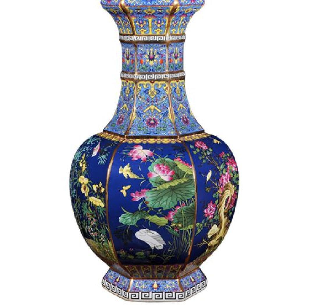 Chinese Qianlong Time Jingdezhen Colorful Enamel - 5