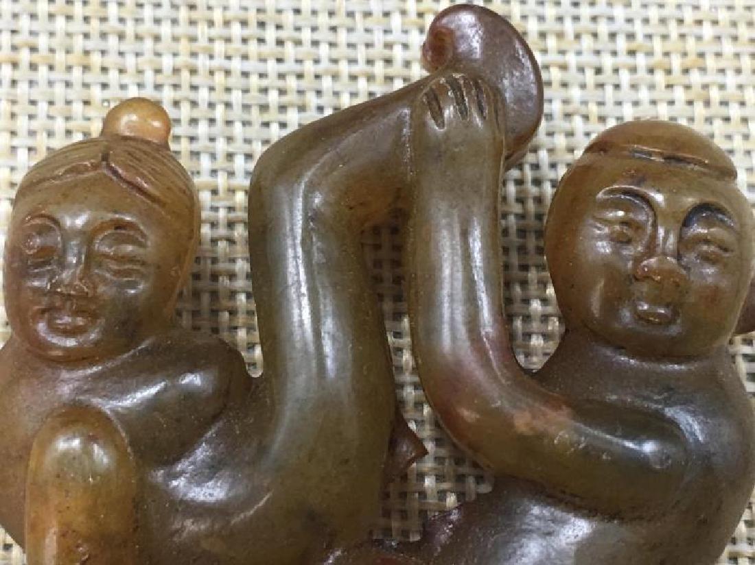 Chinese Antique Jade Pendant - 3