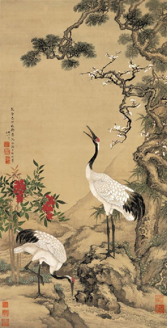 Chinese Qing Dynasty Painting