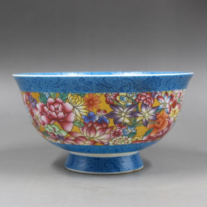 Chinese Qing Dynaty Qianlong Time Famille-Rose