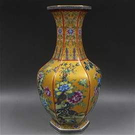 Chinese Qing Dynasty Qianlong Time Enamel Porcelain