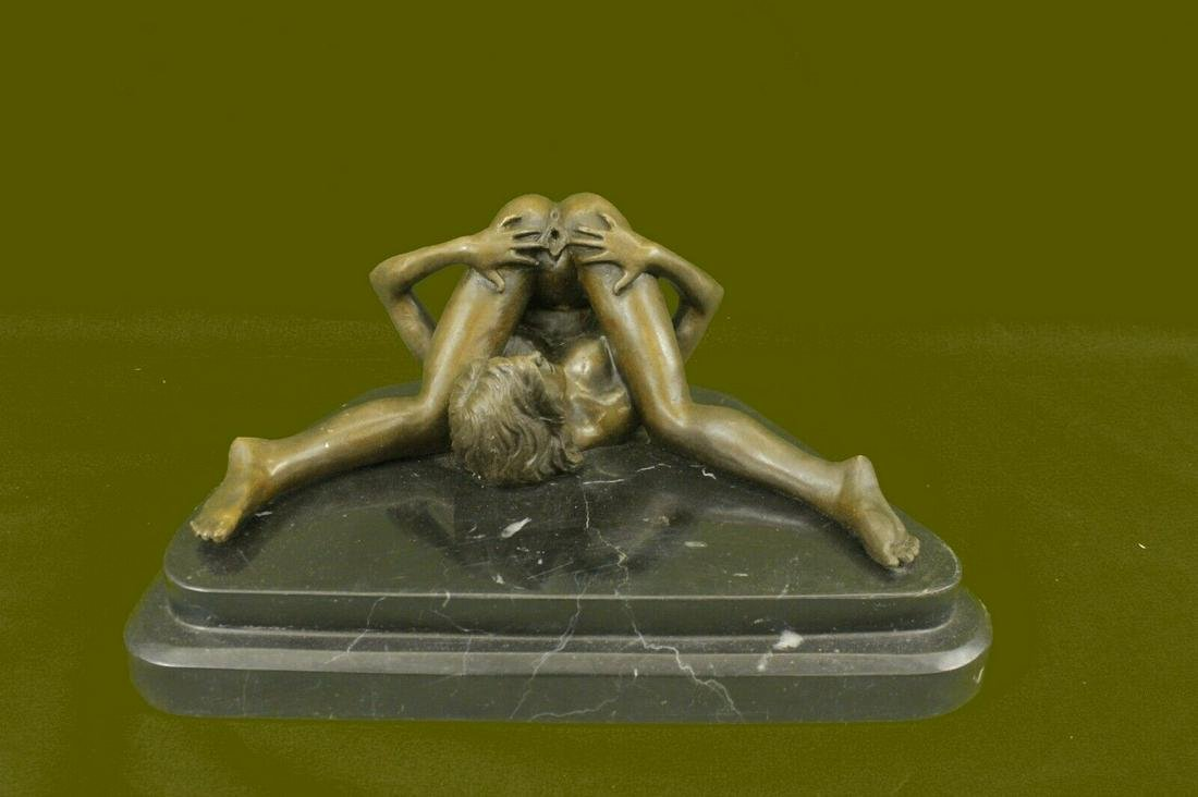 Bronze Sculpture Signed Olivino Gorgeous Nude Model