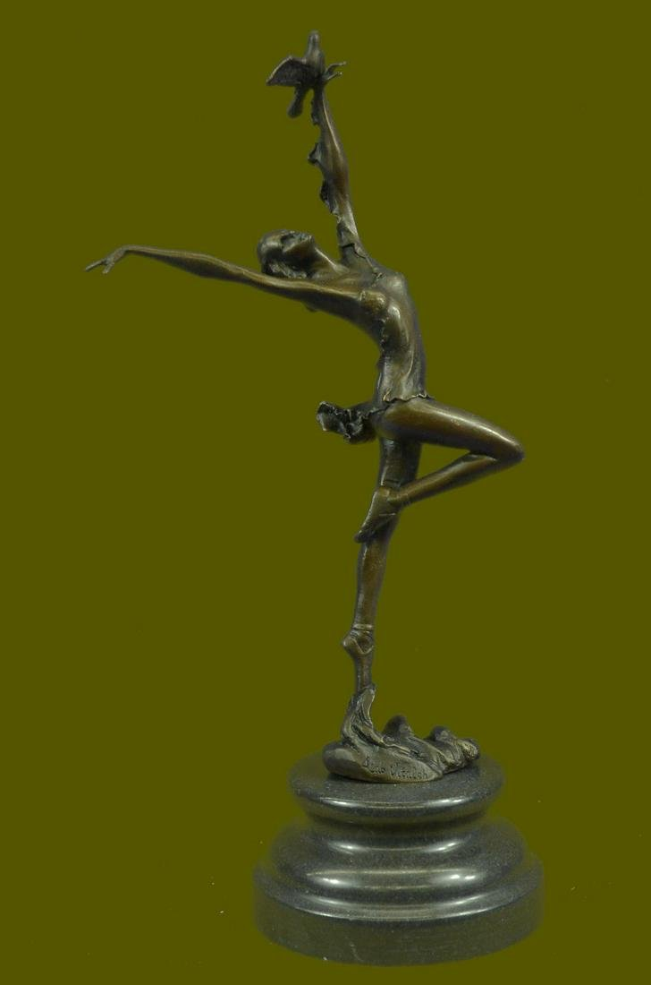 Bronze Sculpture by Italian Artist Aldo Vitaleh Dancer