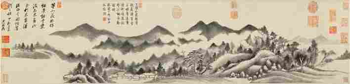Ming dynasty landscape painting by Dong Qi Chang