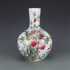 Qian Long colorful bottle