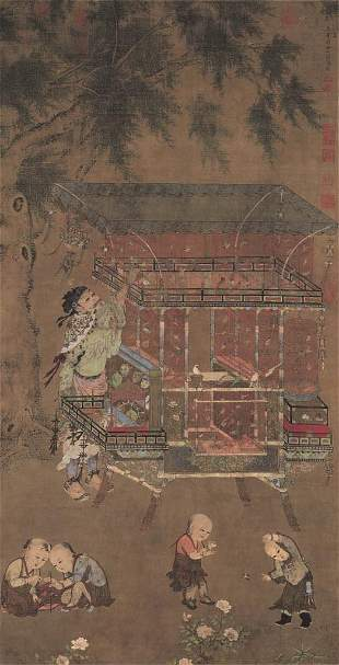 Ming dynasty character painting by Ji Sheng