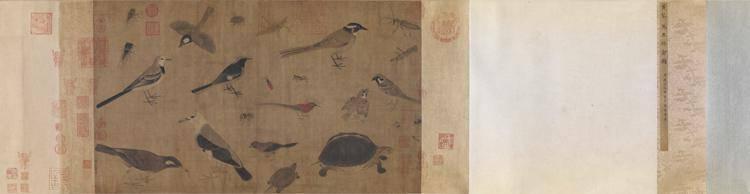 Animal painting by Wu Dai and Huang Quan