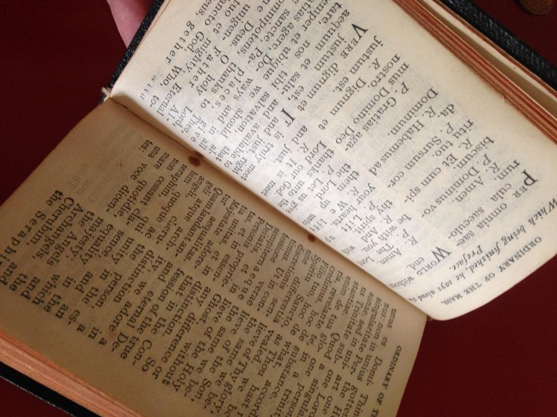 1940's Knights of Columbus Pocket Manual Prayer Book - 10