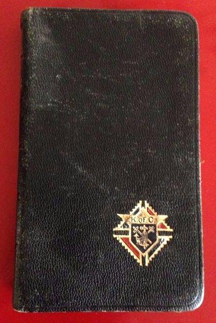 1940's Knights of Columbus Pocket Manual Prayer Book