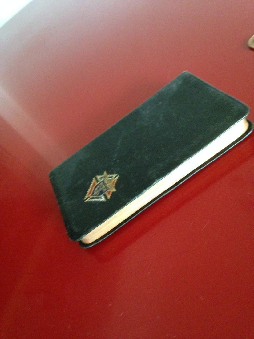 1940's Knights of Columbus Pocket Manual Prayer Book - 8