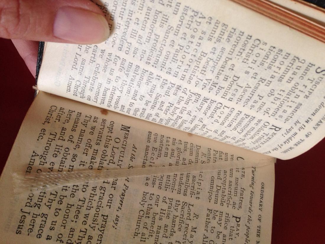 1940's Knights of Columbus Pocket Manual Prayer Book - 9