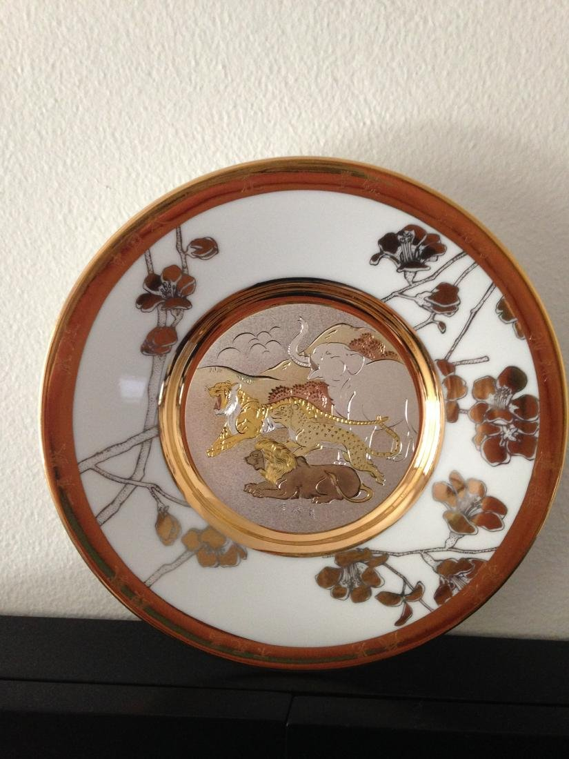 """""""Fortitude"""" Chokin Plate by The Hamilton Collection - 3"""