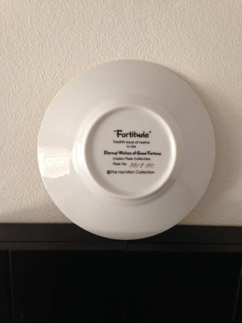 """""""Fortitude"""" Chokin Plate by The Hamilton Collection - 9"""
