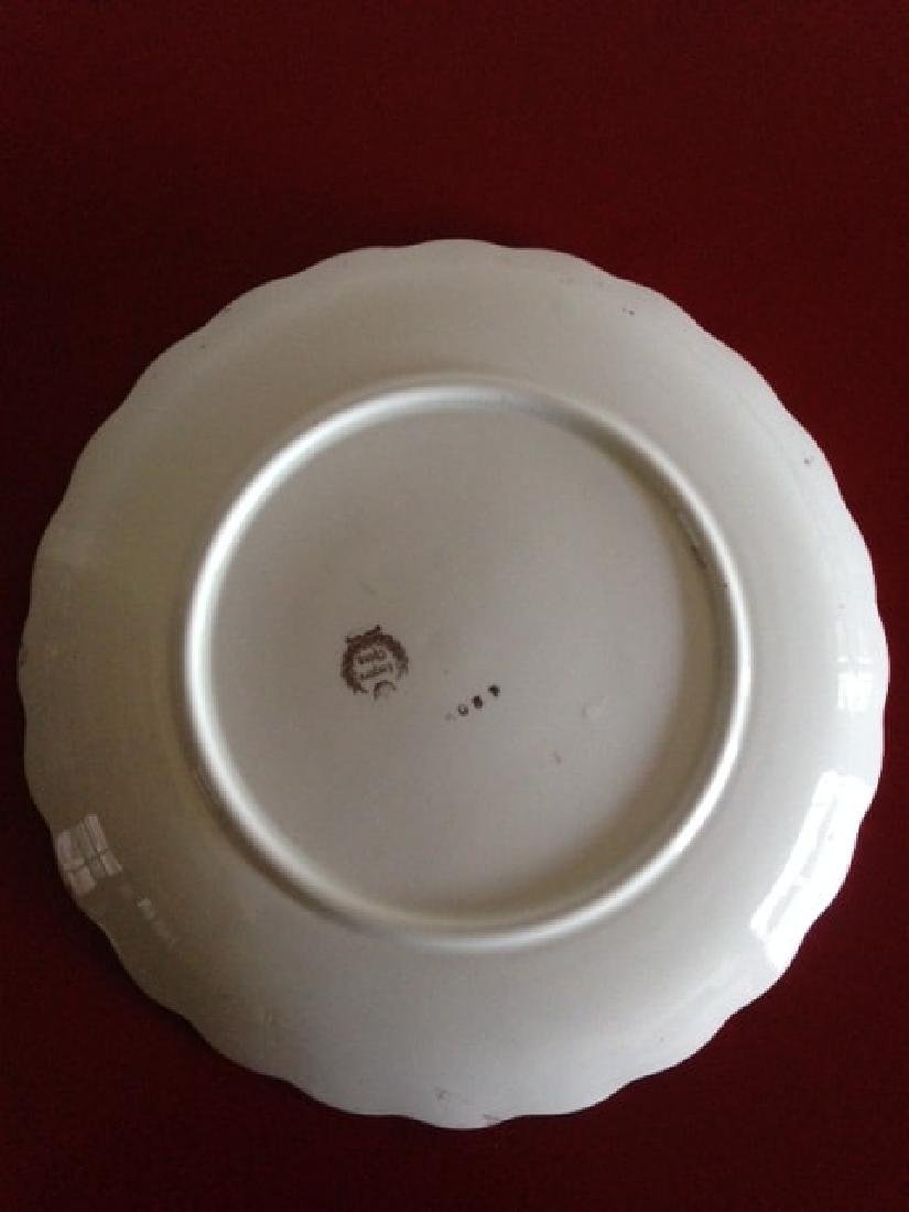 Antique Empire China Scalloped Edge Bowl - 10