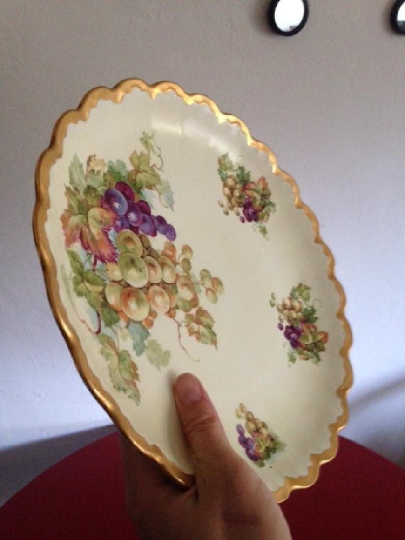 Antique Empire China Scalloped Edge Bowl - 7