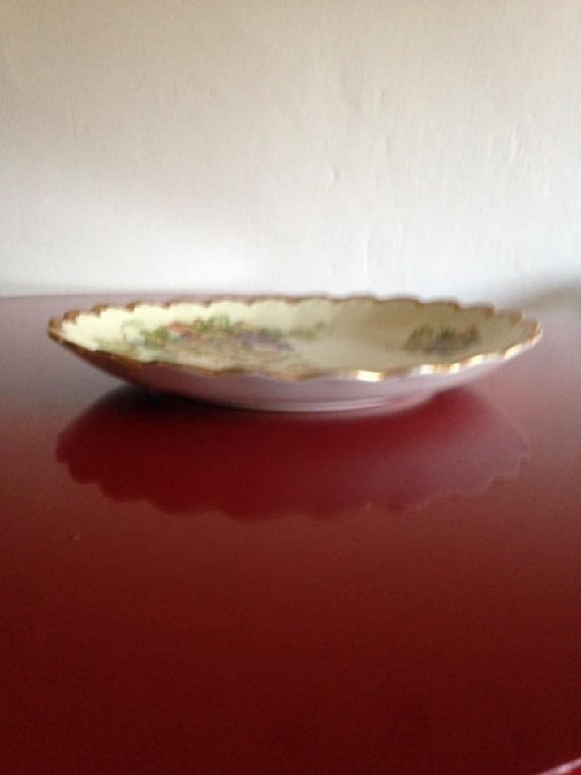 Antique Empire China Scalloped Edge Bowl - 8