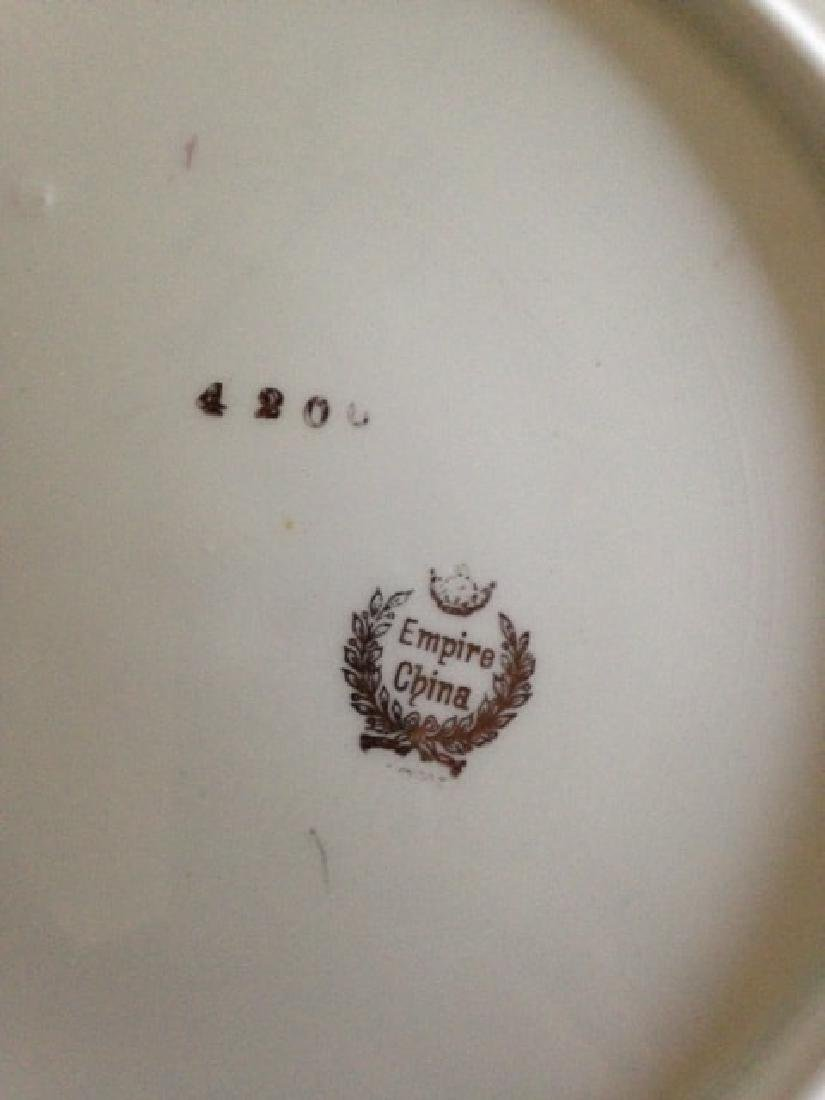 Antique Empire China Scalloped Edge Bowl - 9
