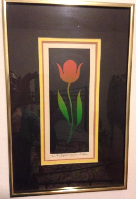 """La Tulipe"" Limited Edition, Signed"
