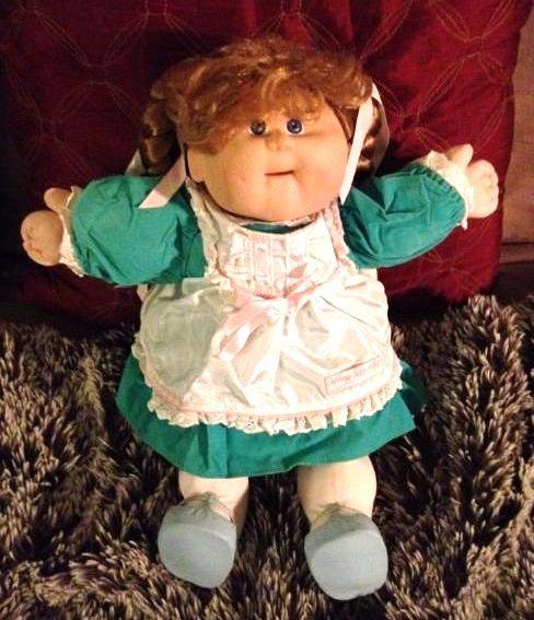 "Cabbage Patch Kid ""Talking Kids"" Doll w/ Birth Cert."