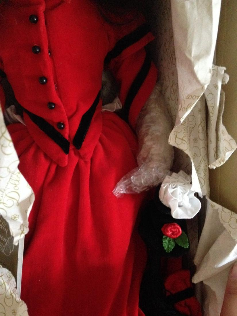 Franklin Heirloom Doll Little Women Jo in Orig. Box - 2