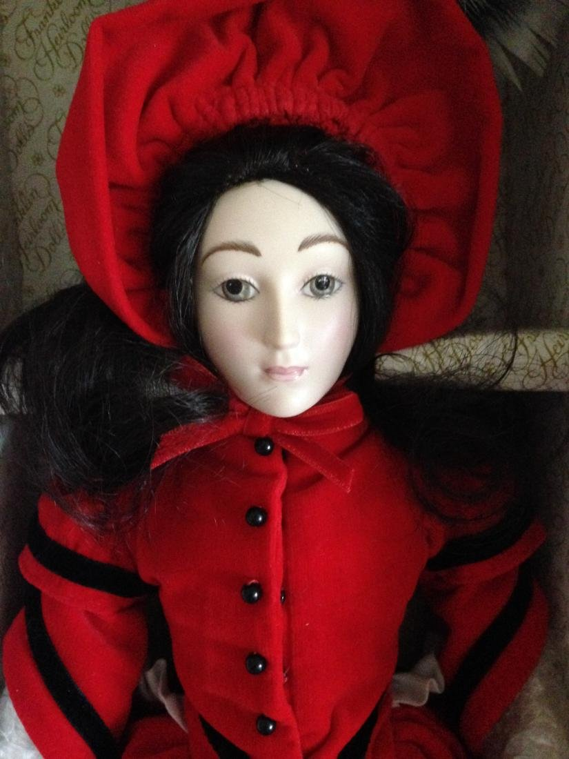 Franklin Heirloom Doll Little Women Jo in Orig. Box - 3