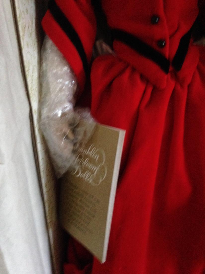 Franklin Heirloom Doll Little Women Jo in Orig. Box - 5