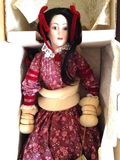 Franklin Heirloom Doll Little Women Beth in Orig. Box