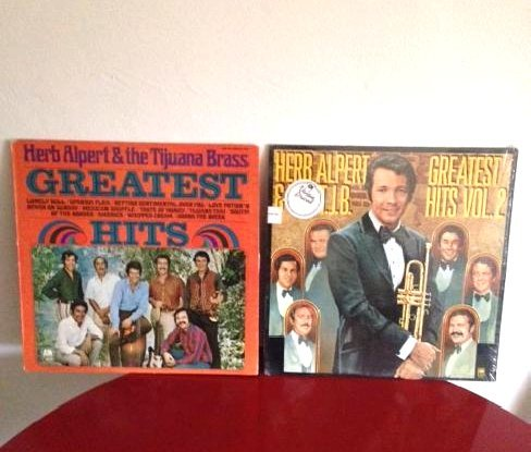 Herb Alpert 2 Vinyl Records Greatest Hits Two Volumes