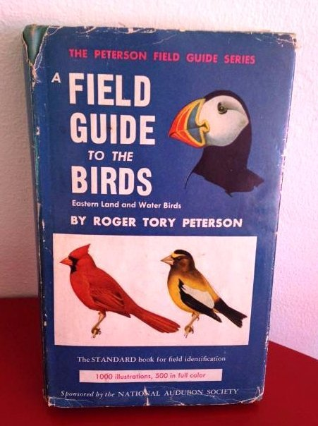 Antique 1947 A Field Guide to The Birds w/ Dust Jacket