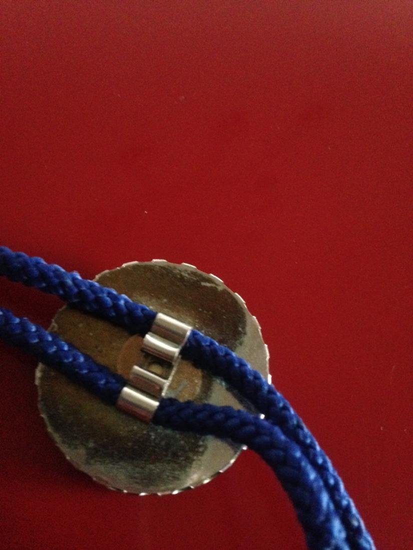 Vintage Knights of Columbus Rope Necklace - 7